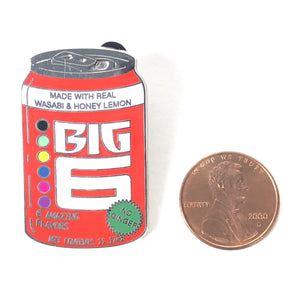 Big Hero 6 Delicious Drinks Drink Soda Can Big 6 Disney Pin
