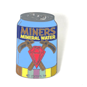 Snow White Delicious Drinks Drink Soda Can Miners Mineral Water Disney Pin