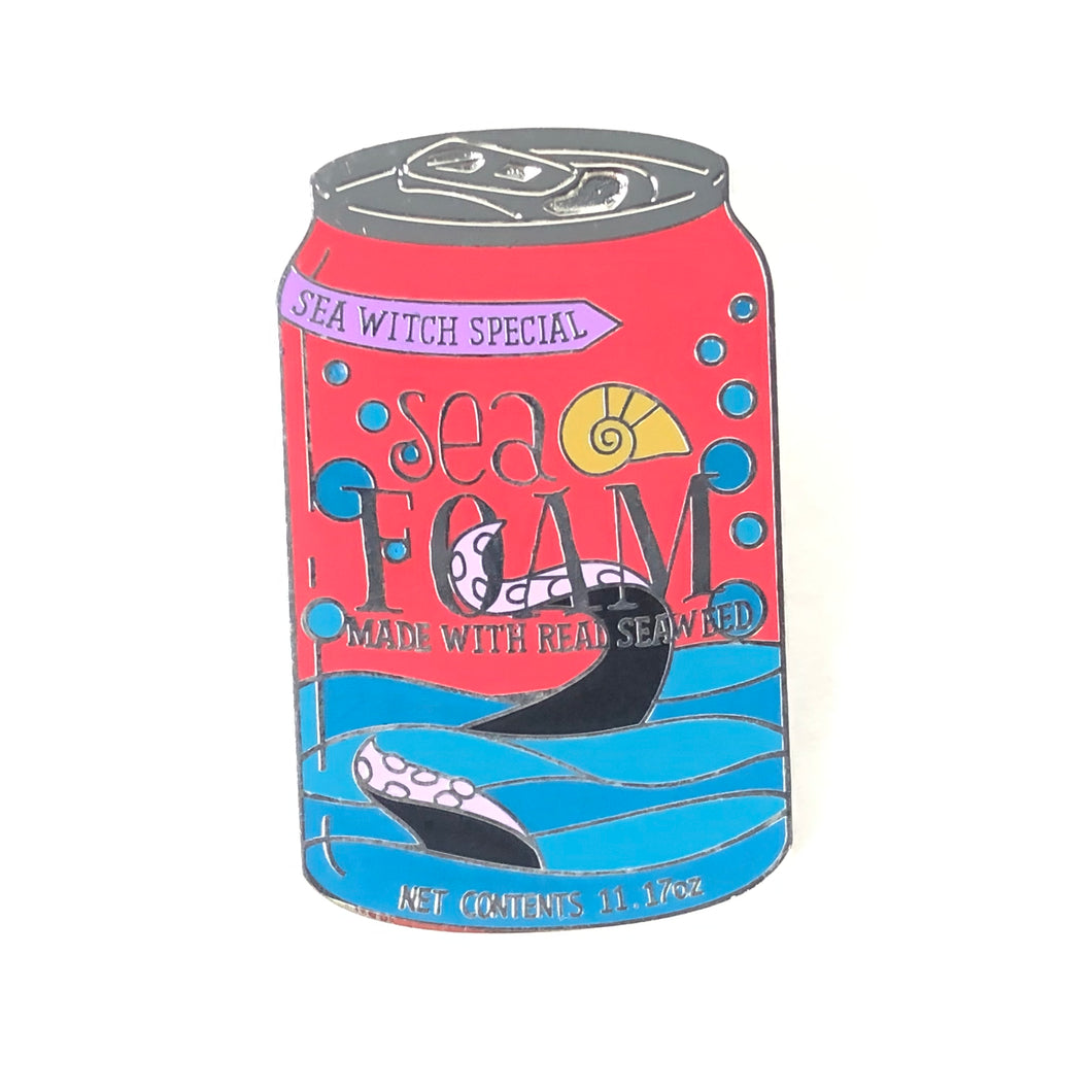 The Little Mermaid Delicious Drinks Drink Soda Can Sea Foam Disney Pin