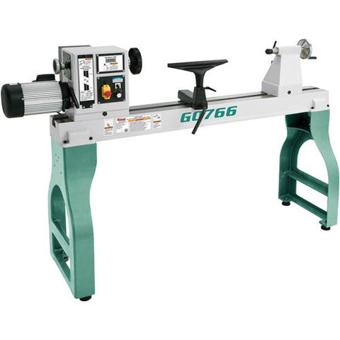 "Grizzly G0766 - 22"" x 42"" Variable-Speed Wood Lathe"