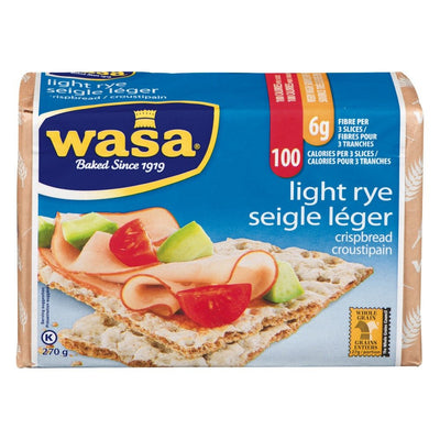 WASA CROUSTIPAIN SEIGLE LEGER 270 G