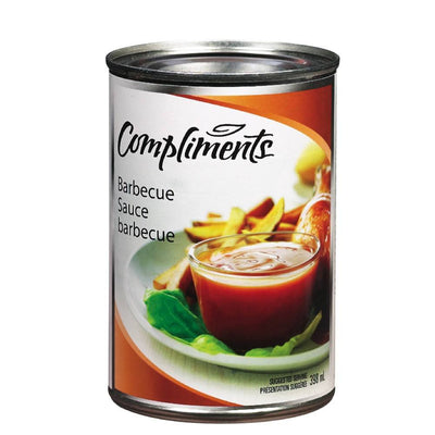 COMPLIMENTS SAUCE BBQ 398 ML