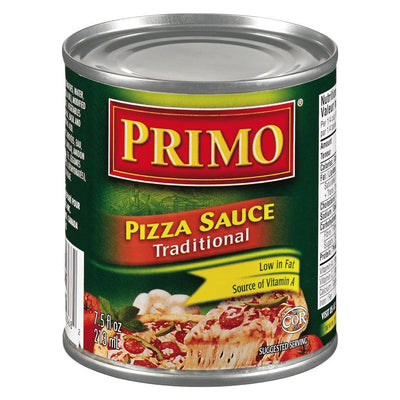 PRIMO SAUCE PIZZA TRADITIONNEL 213 ML