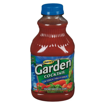MOTT'S COCKTAIL LÉGER GARDEN FAIBLE EN SODIUM 945 ML