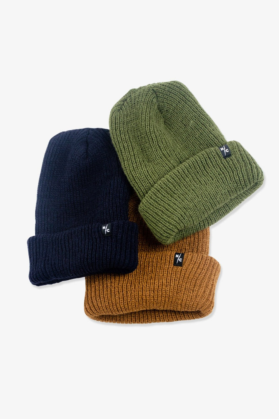 Rumble Ribbed Beanie Rust