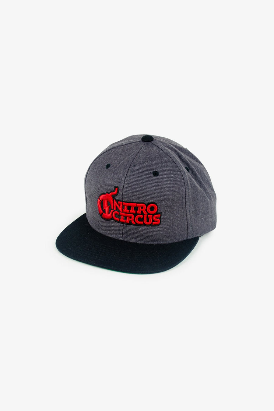 Nitro Circus Core Hat Charcoal/Red