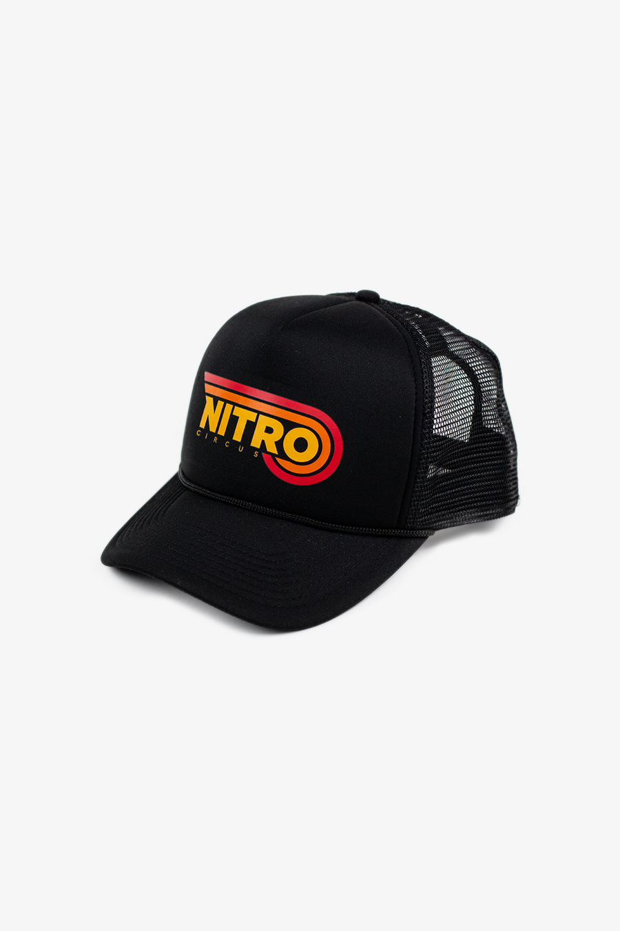 Drive-In Trucker Hat Black