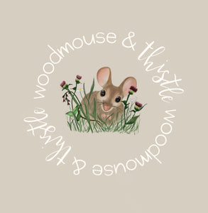 Woodmouse And Thistle