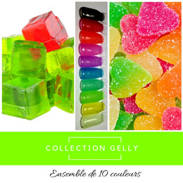 Collection Gelly - Poudres de Trempage