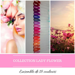Collection Lady Flower - Poudres de Trempage