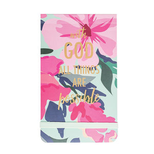 Floral Purse Note Pad