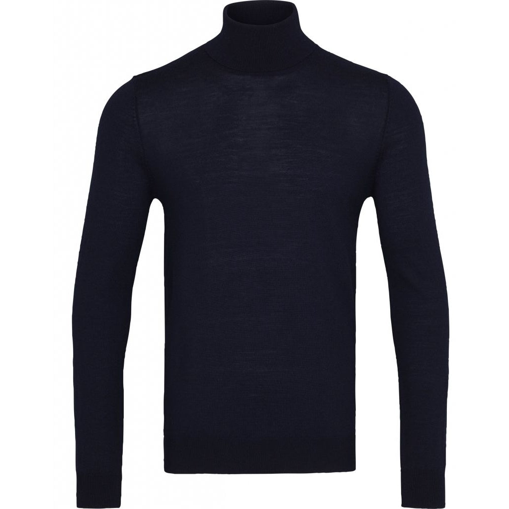 Charles roll neck - Navy