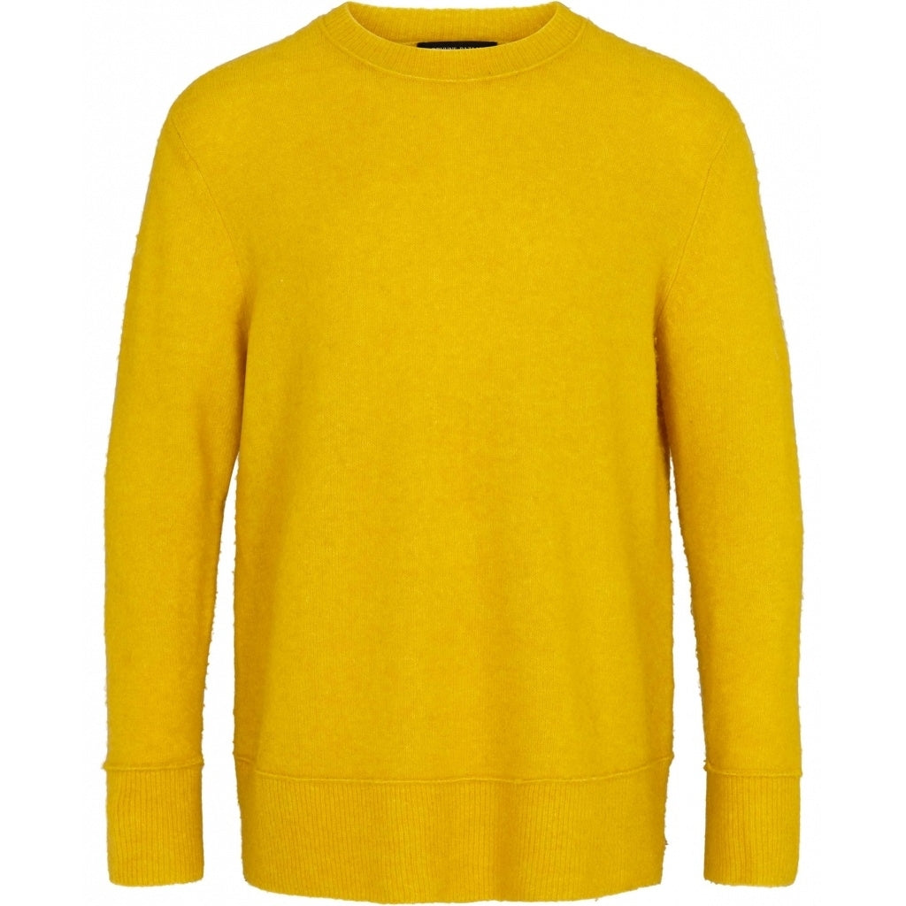Bruuns Bazaar Men Chris Crew Neck Knit Yellow