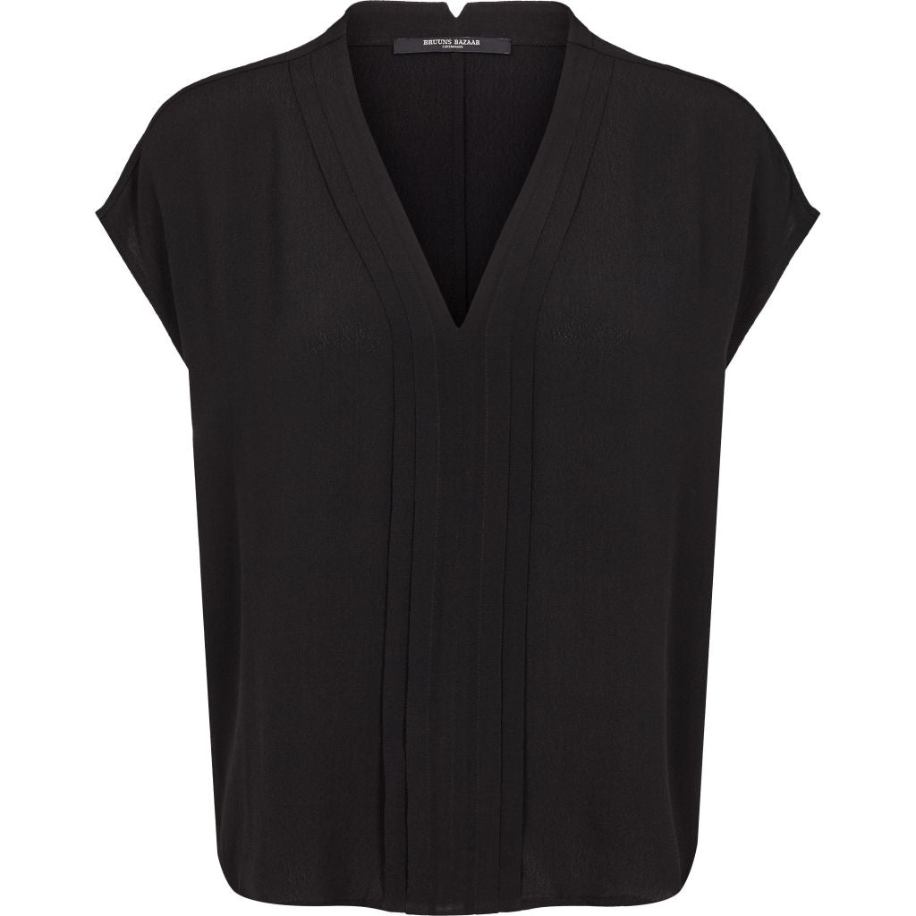 Bruuns Bazaar Women Lilli Dagmar top Tops Black
