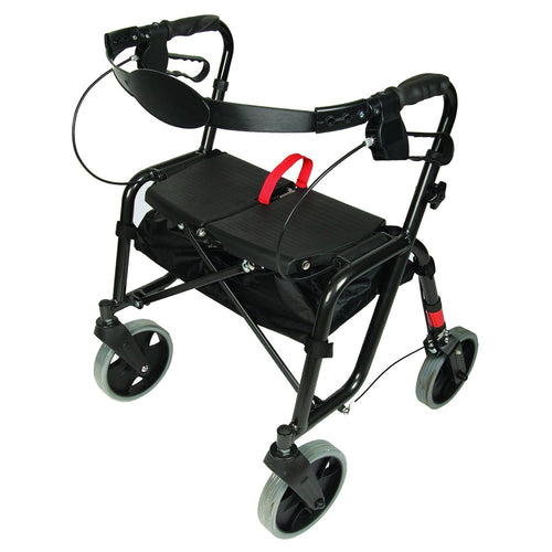 Front View of Lightweight Rollator
