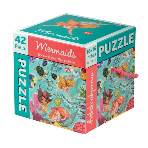 Mermaids Puzzles Games fir Girls Children at FantaSea Coastal Home beach house decor