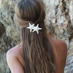 Knobby starfish hair clip for weddings at FantaSea Coastal Home beach house decor