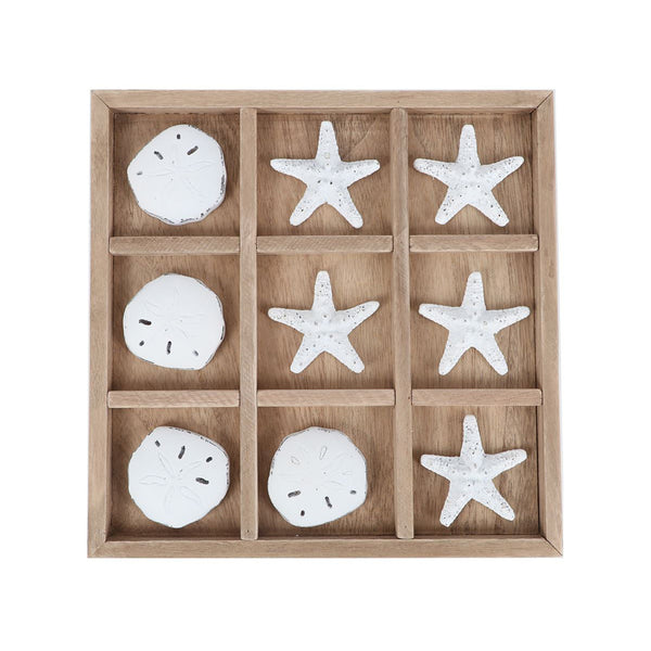 Shell Tic Tac Toe Set