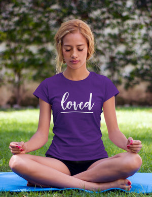 Loved - Women's T-Shirt - Purple