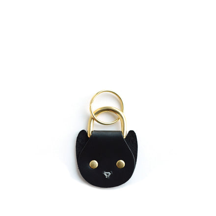 Cat Keychain in Black