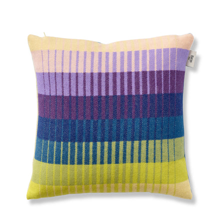 Asmund Gradient Pillow in Violet/Yellow
