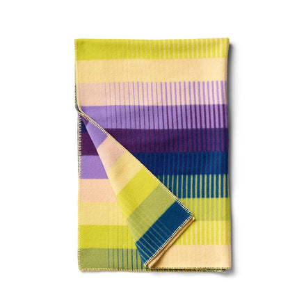 Asmund Gradient Throw in Violet Yellow