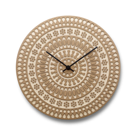 Ornament Clock in Birch