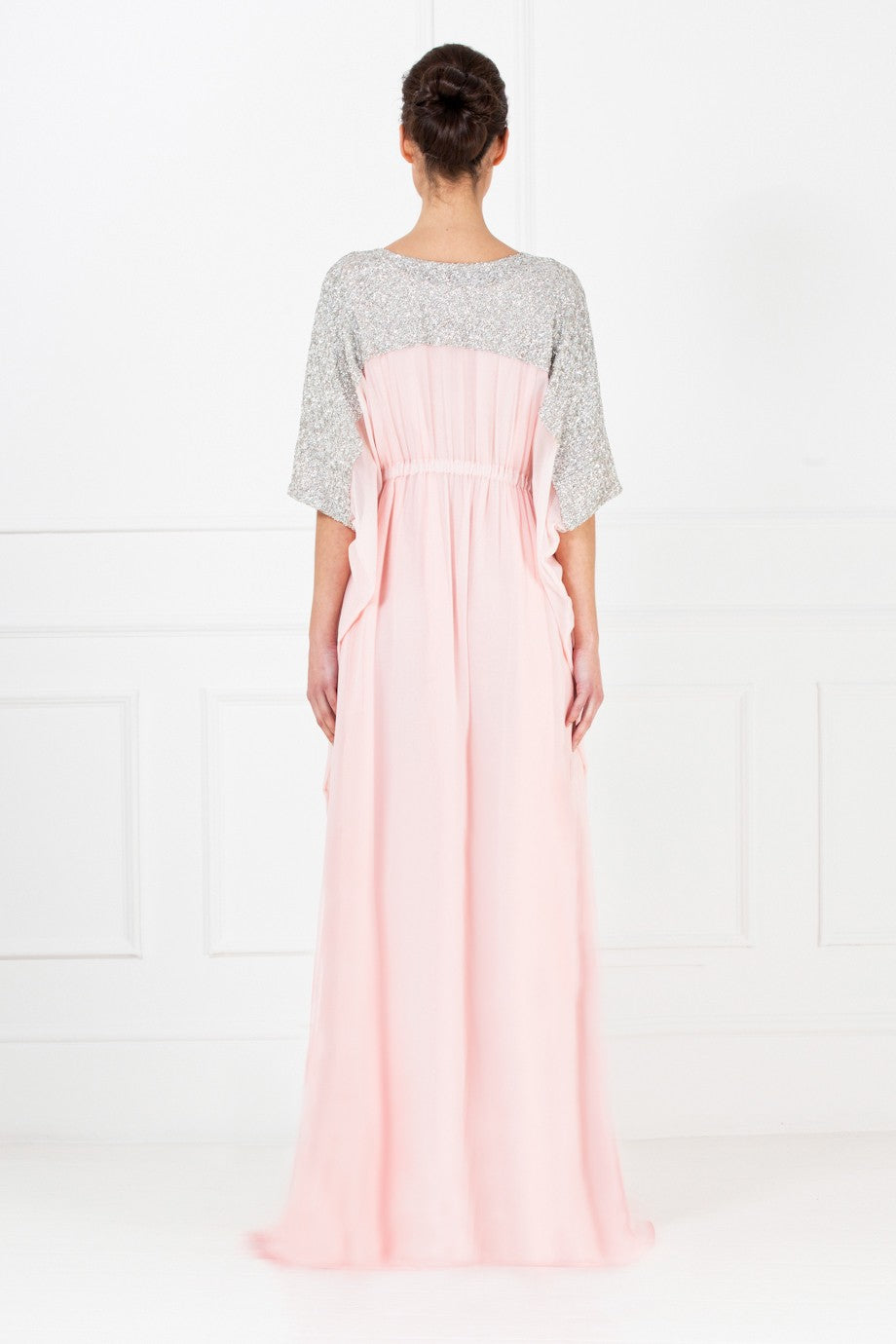 Long Rose Pink Gown
