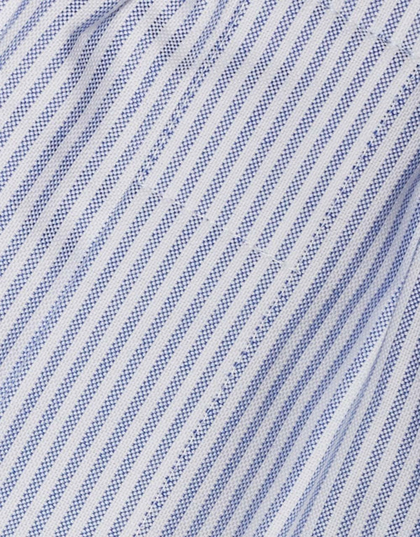OXFORD BOXERS - BLUE/WHITE STRIPE
