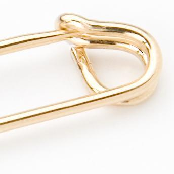 SAFETY PIN GOLD - 2""