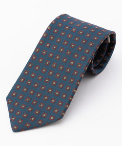 MEDIUM DIAMONDS TIE - BLUE