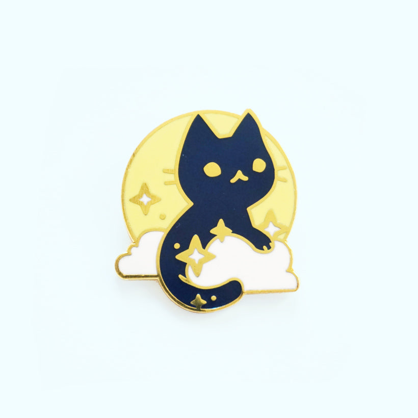 Moon Cat Pin