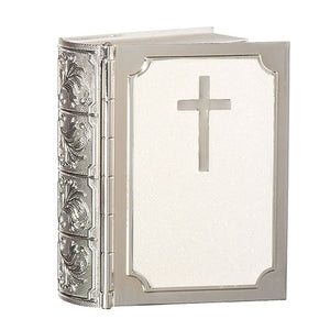 "3.5""H BIBLE KEEPSAKE BOX"
