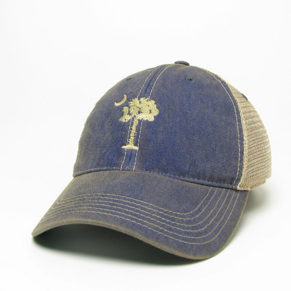 South Carolina Palmetto Tree and Moon Hat - ADI01290