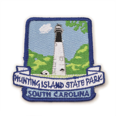 Hunting Island Embroidered Patch - HISI0002686
