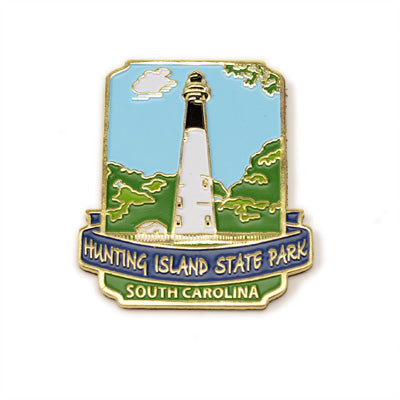 Hunting Island Metal Collectible Magnet - HISI0002688