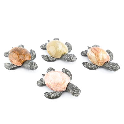 Carved Marble Sea Turtle 4 Inch - MBPI00414