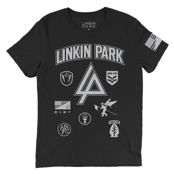 LP Patches Black Tee