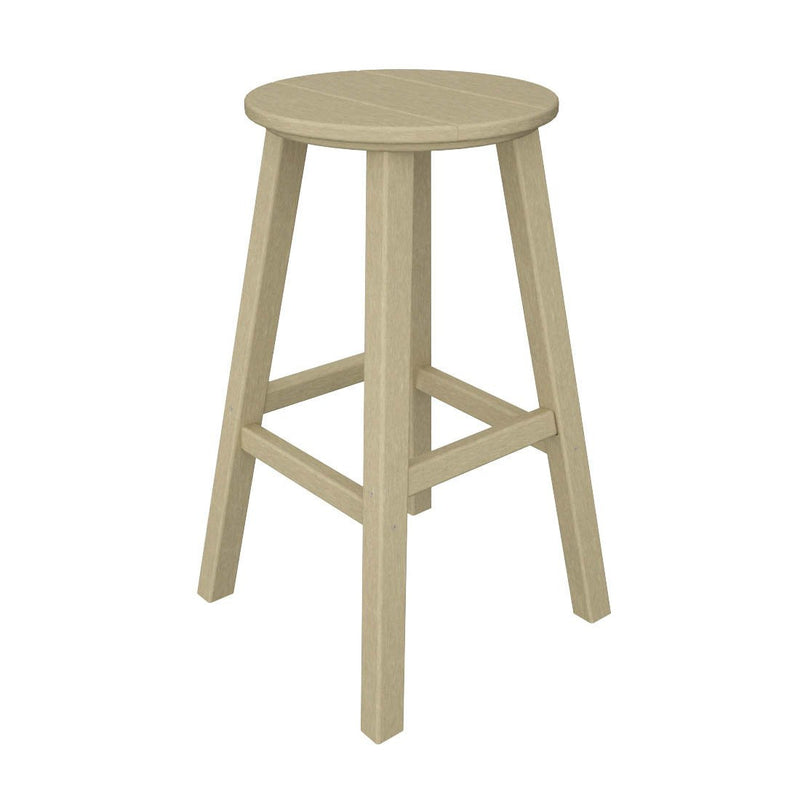 "BAR230SA Traditional 30"" Round Bar Stool in Sand"