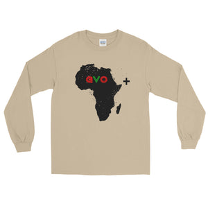Cream Motherland Vibes Long Sleeve T-Shirt