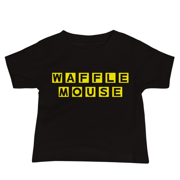 Waffle Mouse Baby Tee