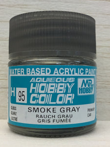 GUNZE MR HOBBY COLOR H95 GLOSS SMOKE GRAY