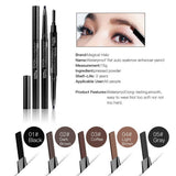 5 colors Waterproof Eye Brow Eyeliner Eyebrow Pen Pencil With Brush Makeup Cosmetic Tool-Hot Sale Products free ship to worldwide