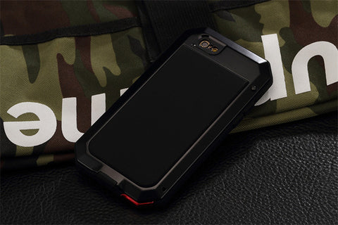 Luxury Doom Armor Duty Shock life-waterproof Metal Aluminum Phone Cases For iphone 8 X 7 SE 6 6S Plus-Hot Sale Products free ship to worldwide