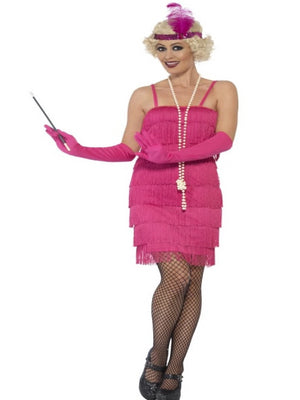 Flapper Costume Pink