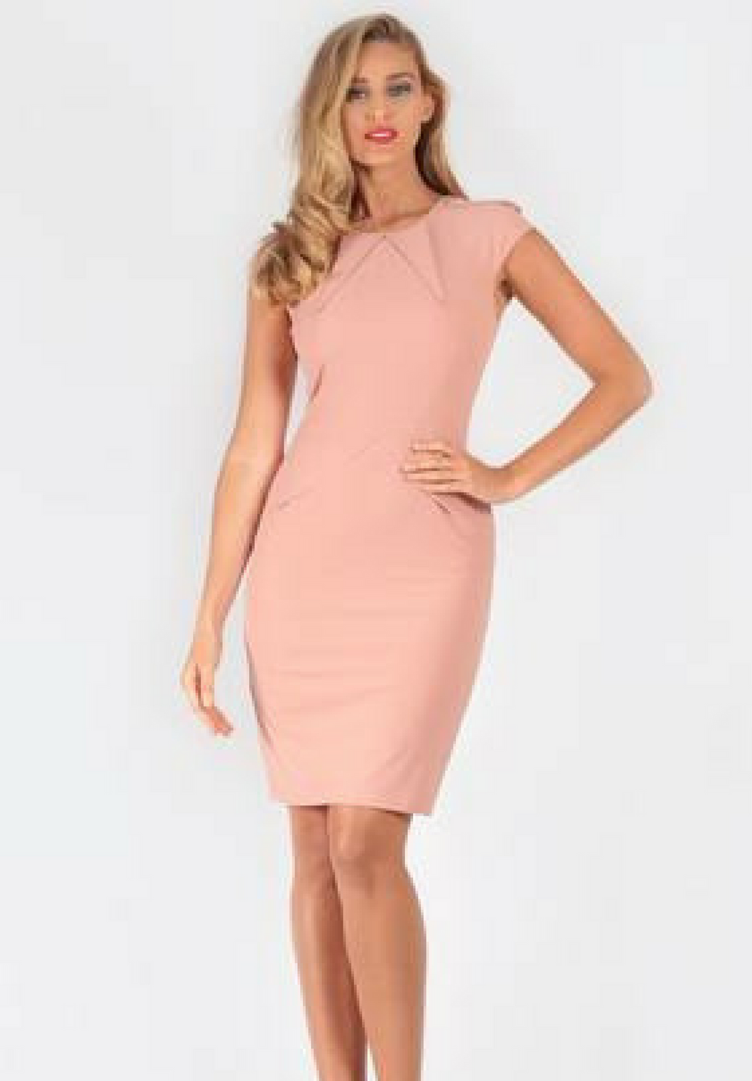 Radios Blush Dress - My Bargains Boutique