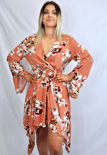 Sophie Summer Dress - Blush - My Bargains Boutique
