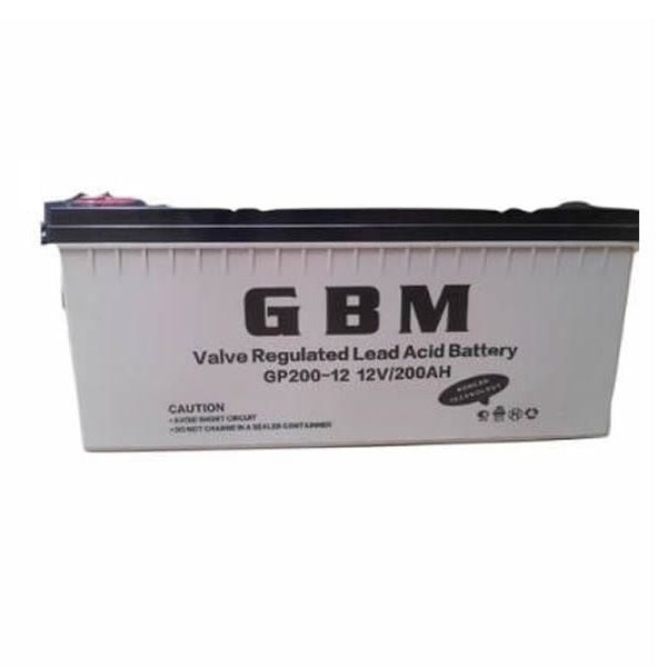 GBM 200AH 12V Deep Cycle Battery
