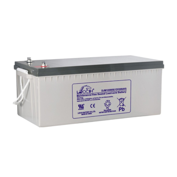 Leoch 200AH 12V Gel Battery