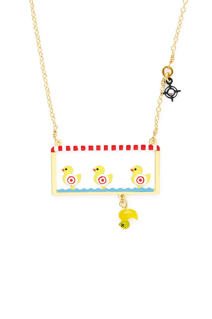 Duck Pond Necklace